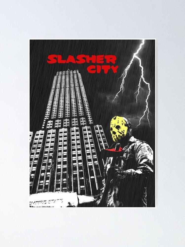 Alternate view of Slasher City Poster