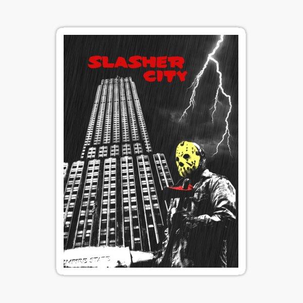Slasher City Sticker