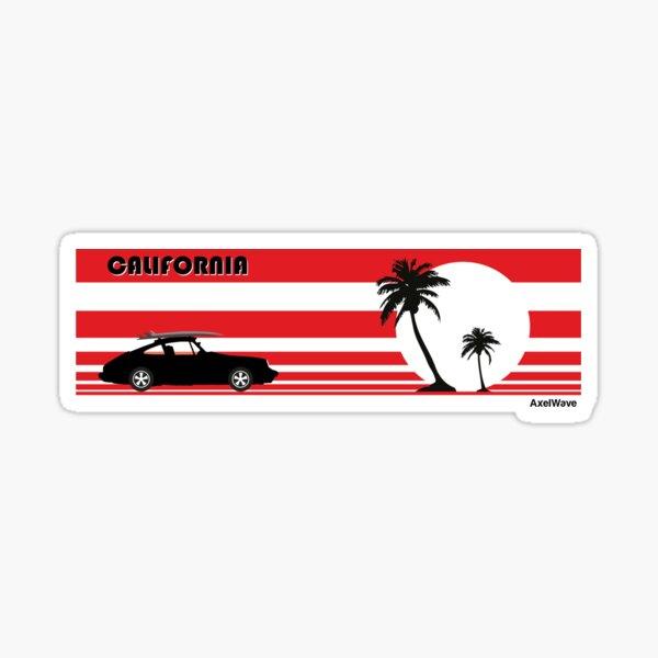 911 California Sticker