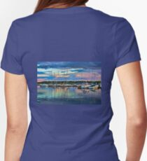 Hecla Island Boats Womens Fitted T-Shirt