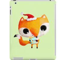 Cute Christmas Fox iPad Case/Skin