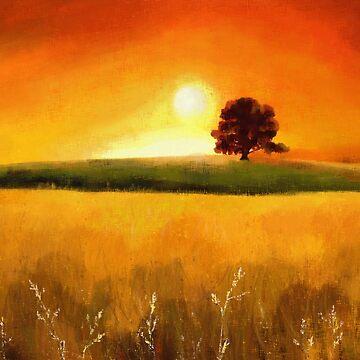 Tree at Sunrise by TMU-cw