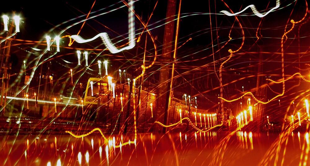 The Rail Network by Bruce  Watson