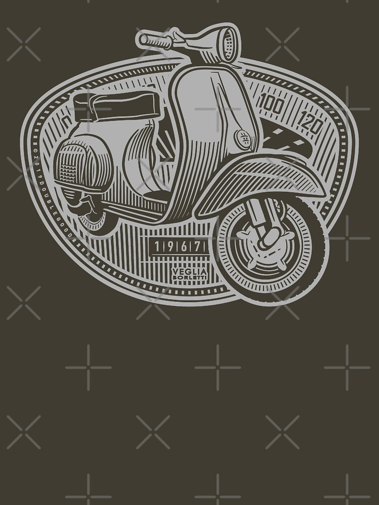 Vespa Smallframe (light print) by DoubleGood