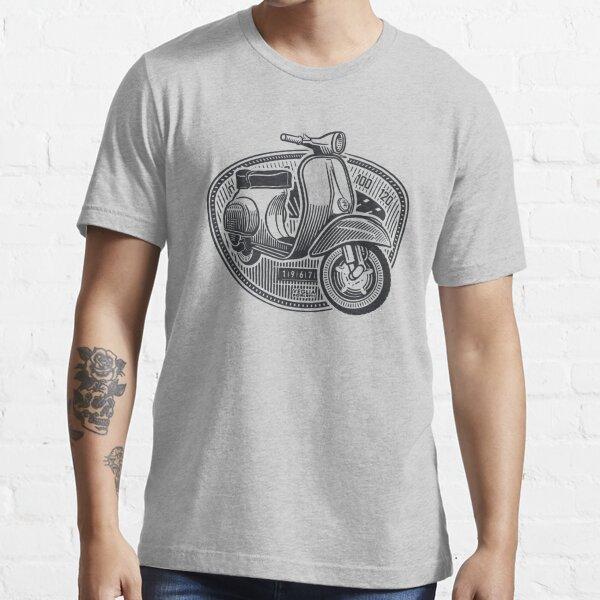 Vespa Smallframe (dark print) Essential T-Shirt