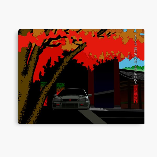 Autumn Impreza Canvas Print