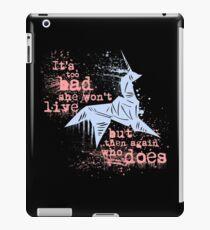 Blade Runner Sci Fi Science Fiction Ridley Scott Harrison Ford Unicorn Origami  iPad Case/Skin