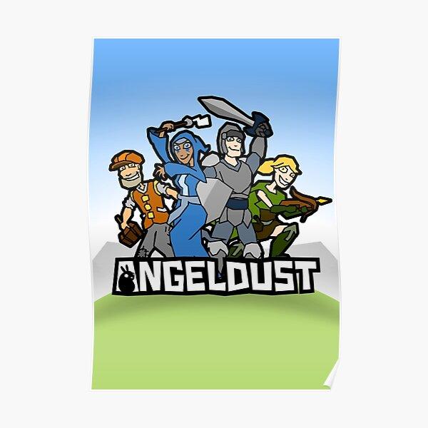 Angeldust Logo—Vertical Poster