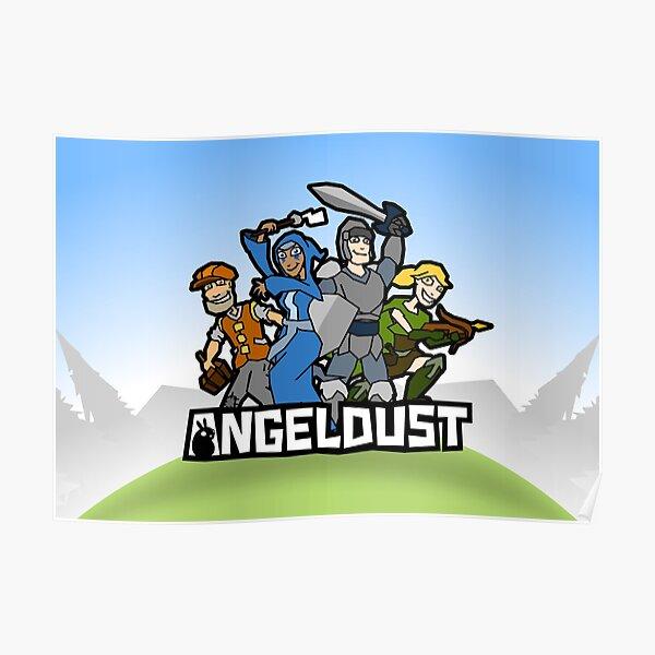 Angeldust Logo—Horizontal Poster
