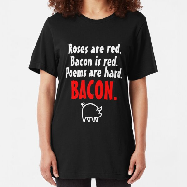 Roses are Red Bacon is Red BBQ Lover Unisex Sweatshirt tee