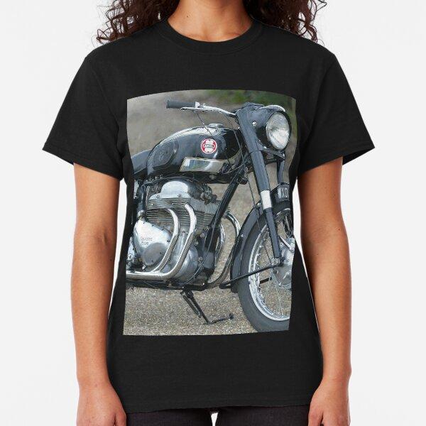 BIKER MEN SHIRT WITH CULT V TWIN MOTORCYCLE ENGINE SHORT SLEEVE 2 CYLINDER TEE