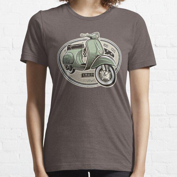 Vespa Smallframe (colour print) Essential T-Shirt