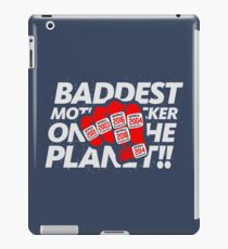 Limited Edition Baddest Mf'er On The Plant Tom Brady, New England Patriots 6 Rings, Tb12 Shirts, Mugs & Hoodies iPad Case/Skin