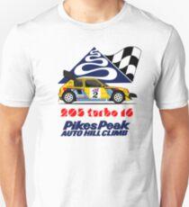 205 turbo 16 pikes peak Unisex T-Shirt