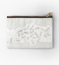 Evolutions - Fossilized Layers Zipper Pouch