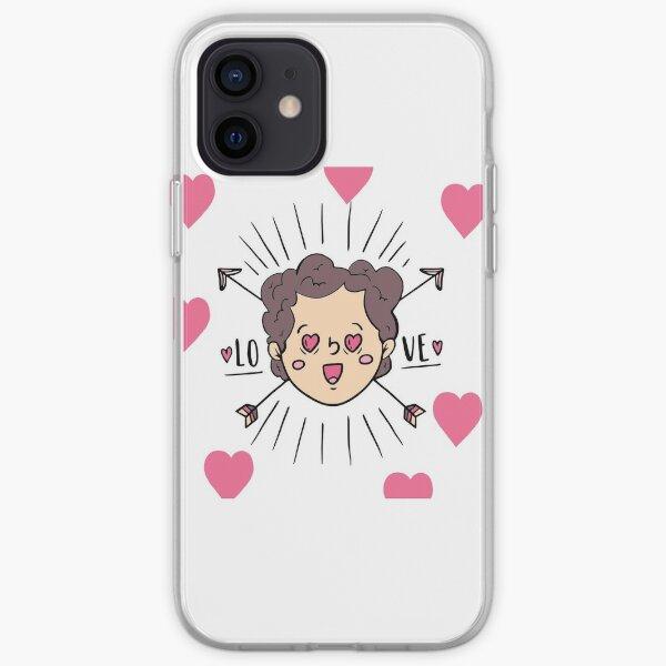 Valentine's Day Cute Boy In Love iPhone Soft Case