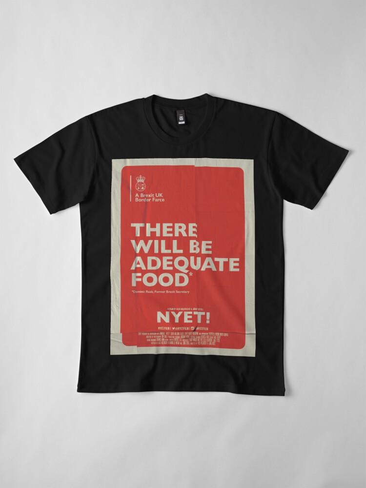 Alternate view of Adequate Food T-Shirt Premium T-Shirt