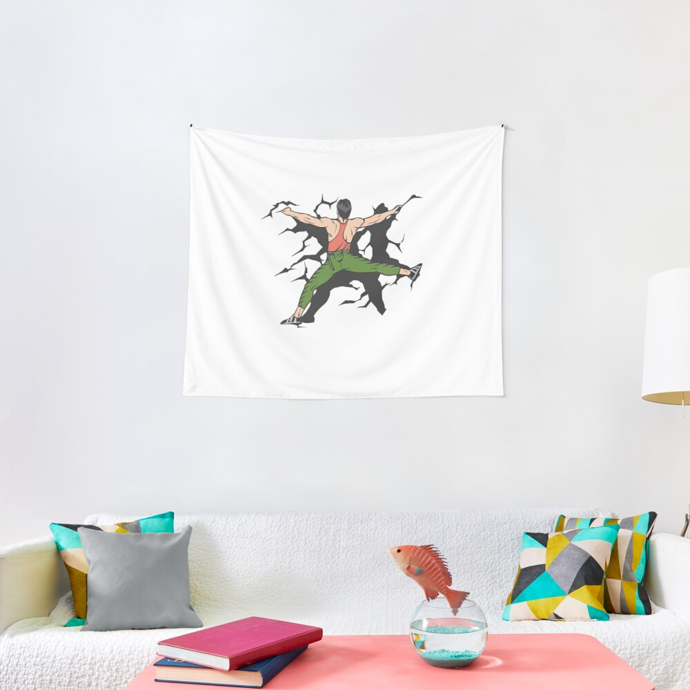 Cool Rock Climbing Shirt Funny Bouldering  Gifts Tapestry