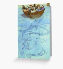 Sailors sinking Greeting Card