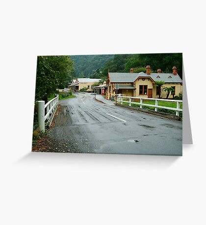 Walhalla Gippsland Greeting Card