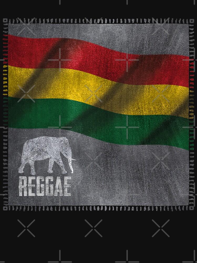 Reggae Elefant von Periartwork