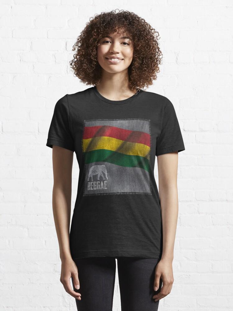 Alternative Ansicht von Reggae Elefant Essential T-Shirt