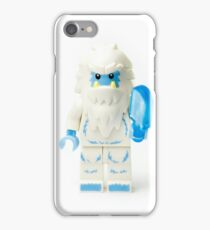 Abominable Snowman Yeti Minifig iPhone Case/Skin