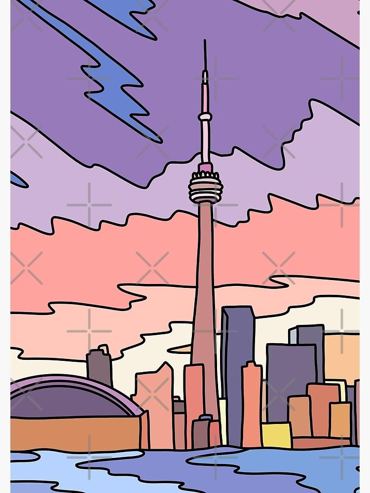 Toronto sky by Elebea by elebea