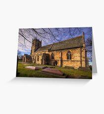 St Peter's & St Paul's Church in  Barnby Dun Greeting Card