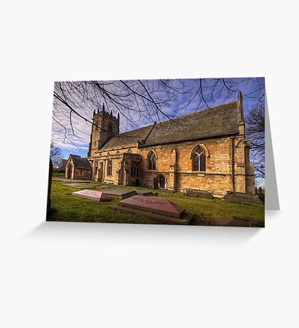 St Peter's & St Paul's Church in  Barnby Dun Greeting Card