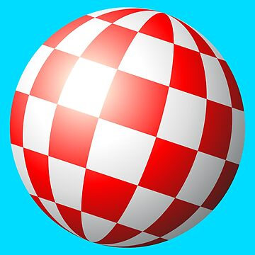 Geekdom - Amiga chequered boing ball (1984 CES Demo) by ccorkin