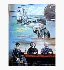 German settlers in Texas - Beer Photographic Print