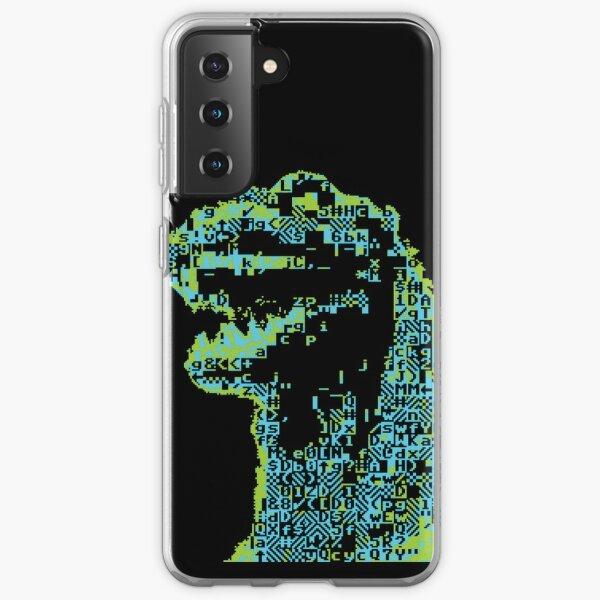 Giant Lizard ASCII  Samsung Galaxy Soft Case