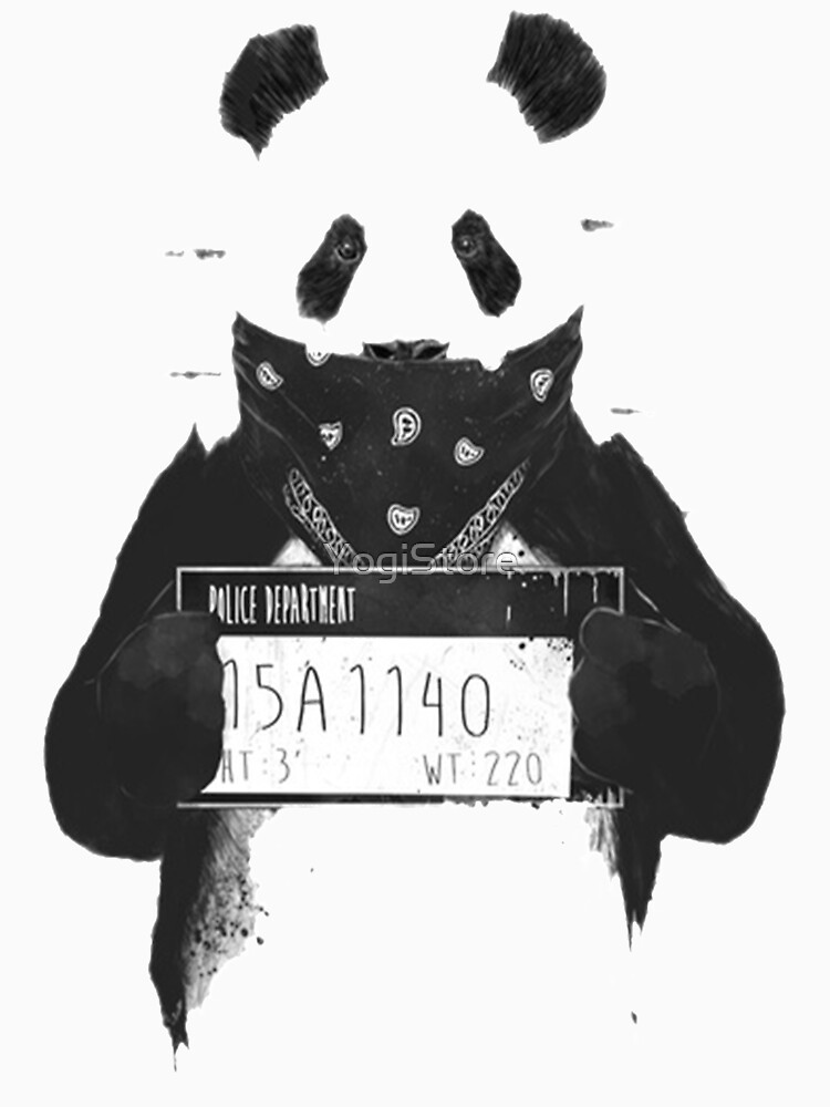 TShirtGifter presents: Bad Banksy Panda | Unisex T-Shirt