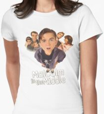 Malcolm in the Middle Women's Fitted T-Shirt