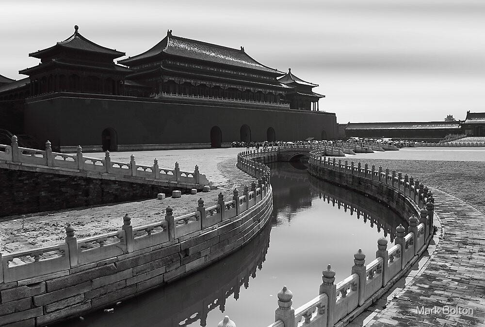 Tiananmen Gate - Forbidden City - Beijing by Mark Bolton