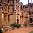 walled garden facade, Montacute House, Somerset by BronReid