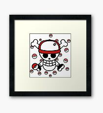 Red pirate 2 Framed Print
