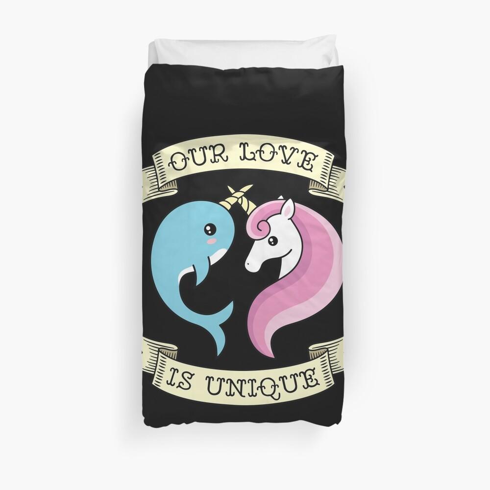 Unique Love Duvet Cover