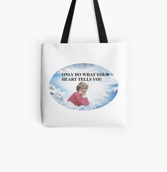 Diana - What Your Heart Says All Over Print Tote Bag