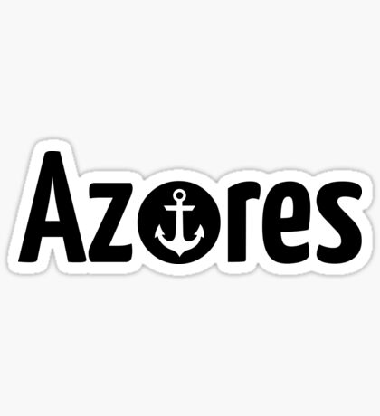 Azoren Anker  Sticker