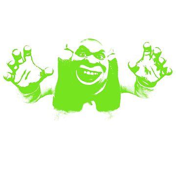 Shrek'd Out - Green by illuminatim