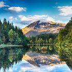 Glencoe Lochan, Glencoe, Schottland von Jim Wilson