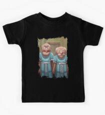 Muppet Maniac - Statler & Waldorf as the Grady Twins Kids Tee