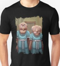 Muppet Maniac - Statler & Waldorf as the Grady Twins T-Shirt