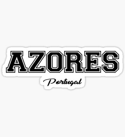 Azoren Portugal Sticker