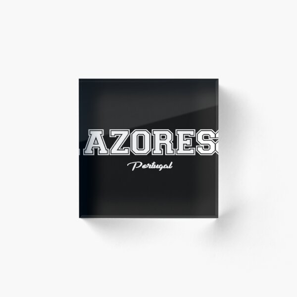 Azores Portugal Acrylic Block
