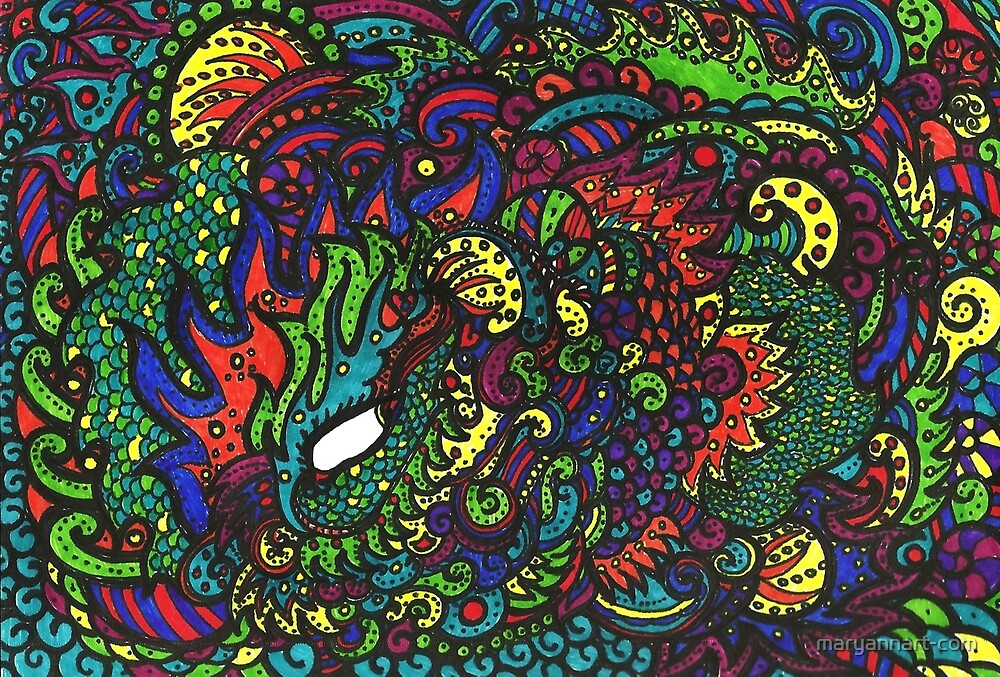 Magic Eye by maryannart-com