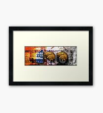 100 Brains Framed Print