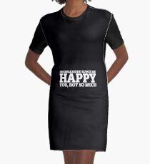 Cheerleading Funny Gift Idea  Graphic T-Shirt Dress